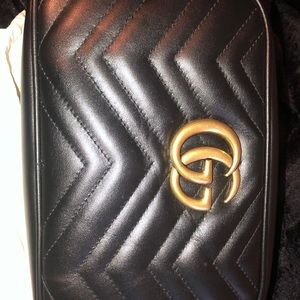 Gucci GG Marmont Bag Matelasse small black